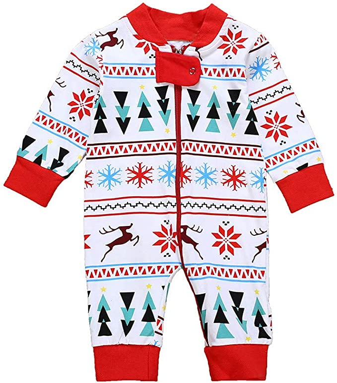 For 0-24 Months Baby,DIGOOD Newborn Baby Boys Girls Floral Print Zipper Long Sleeve Romper Toddler Clothes
