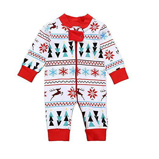 95787a437c0d Amazon.com  Baby Christmas Romper