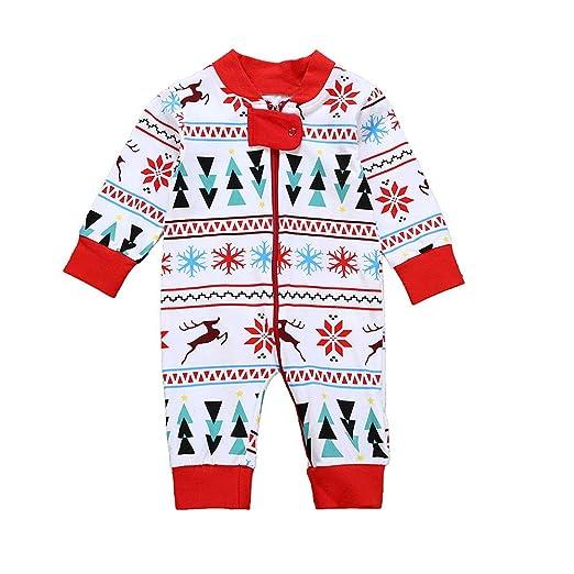9cec01208213 Amazon.com  Sagton Christmas Newborn Baby Boys Girls Deer Snowflake ...