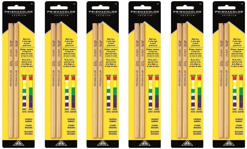 Prismacolor BLENDER PENCILS 6-Packs of 2 Pencils (12 Pencils Total)