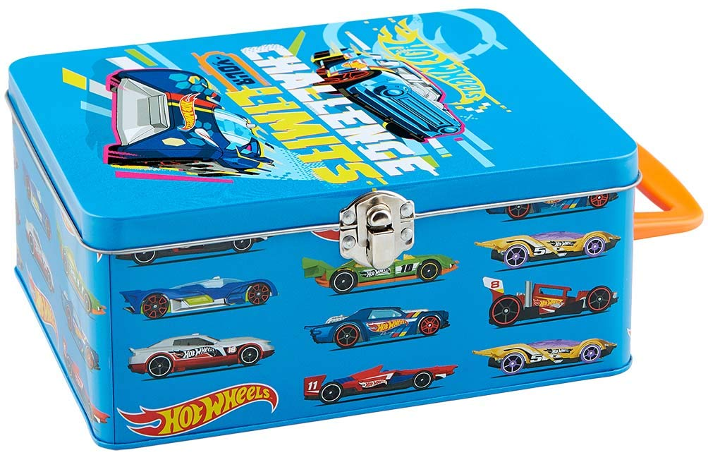 Theo Klein 2883 - Hot Wheels Cars Collecting Case (For 18 Cars)