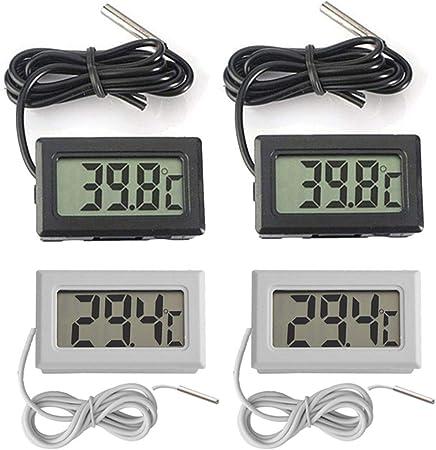LCD Digital Thermometer Temperatur Hygrometer Termometer Luftfeuchtigkeit