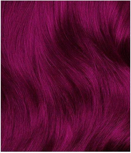 Lunar Tides - Tinte para el cabello, color rosa fucsia.