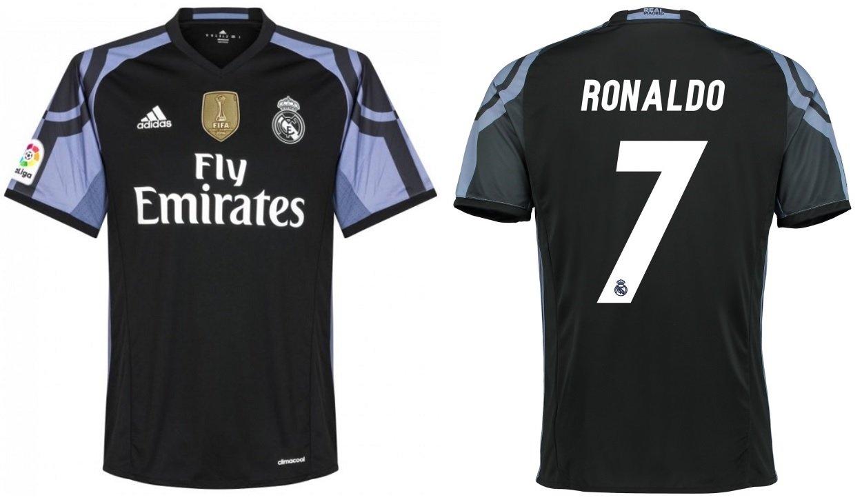 Trikot Kinder Real Madrid 2016-2017 Third WC - Ronaldo 7