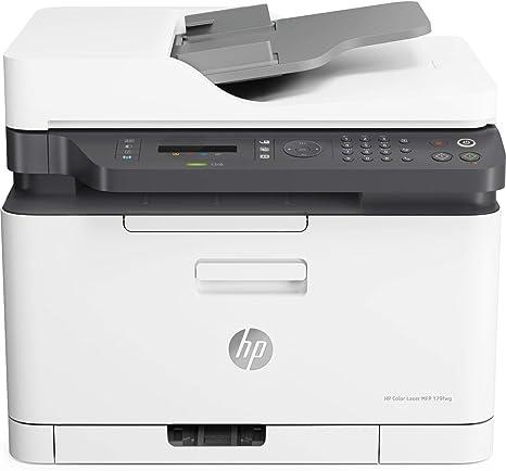 HP Color Laser MFP 179fnw - Impresora láser multifunción (Imprime ...