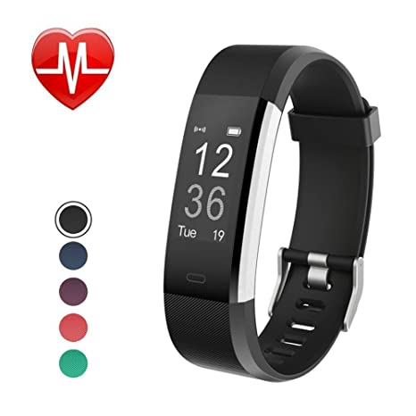 5699d447ce2 Amazon.com   Jeestam Fitness Tracker with Heart Rate Monitor Sleep ...