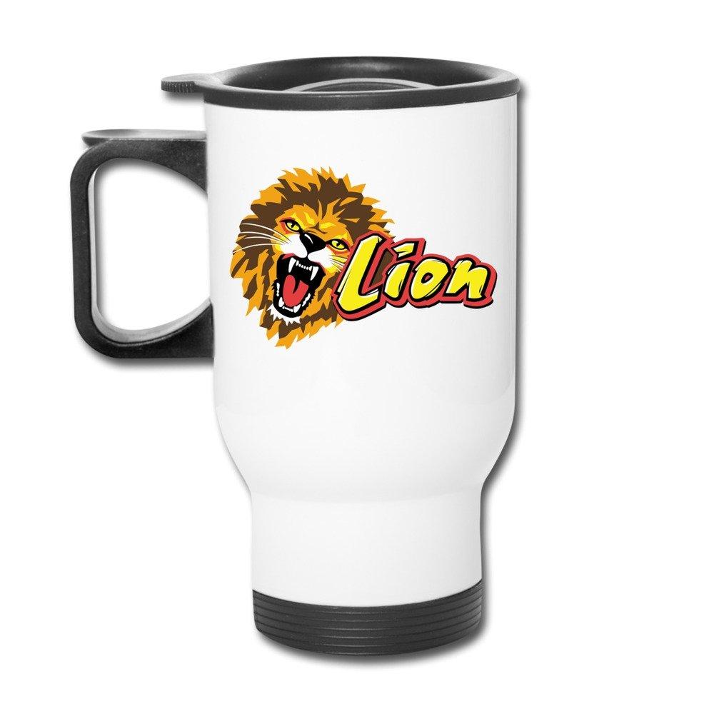 Kep León el Big gatos Genus Panthera Cartoon Viajes tazas de ...