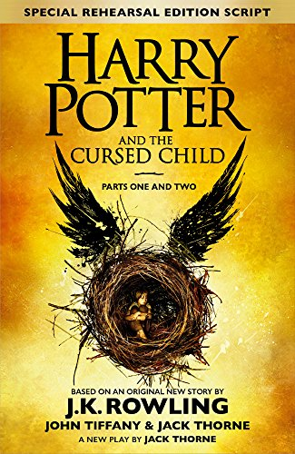 The front cover of Harry Potter and the Cursed Child