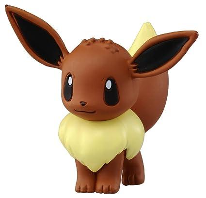 amazon com takaratomy official pokemon x and y mc 029 2 eevee