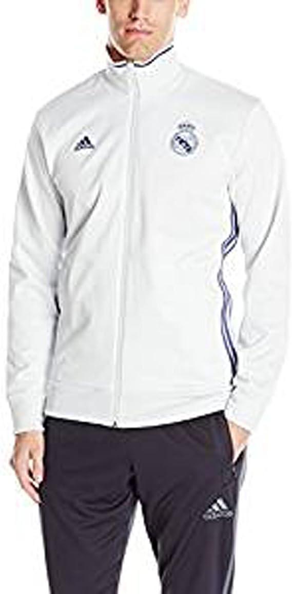 adidas Camiseta deportiva Real Madrid con 3 rayas para hombre