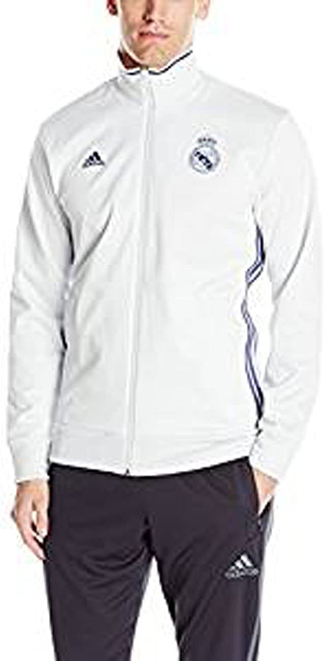 adidas Men's Real Madrid 3 Stripe Track Top