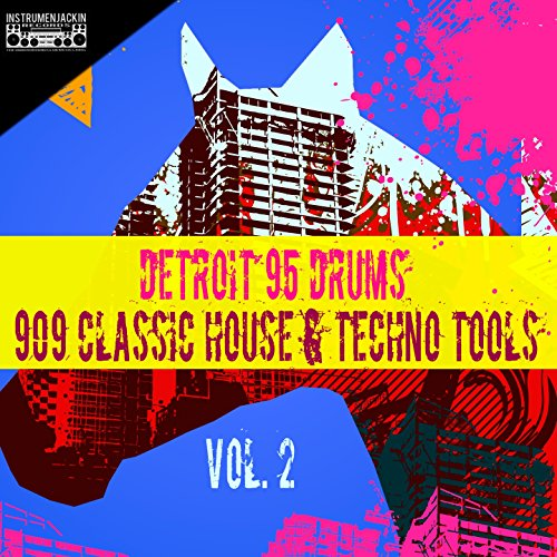 909 classic house techno tools vol 2 by detroit 95 for Classic 90s house vol 2
