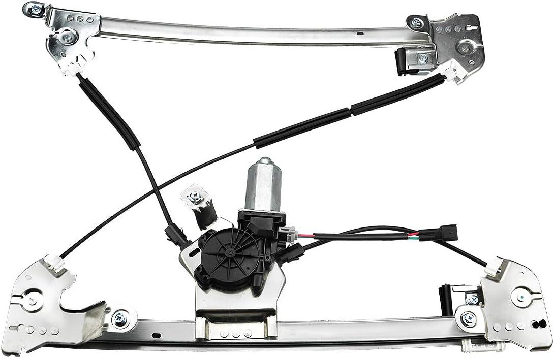 New Power Window Regulator w//Motor Front Passenger Side for Ford F150 2004-2008