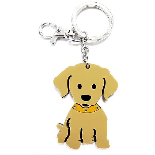 FouFou Dog 92668 Keychain Golden Retriever Regalo Idea ...
