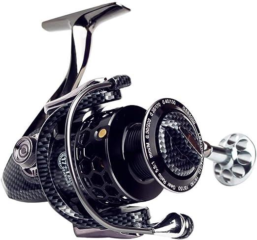 WYKDL Spinning Pesca Carretes Carrete de Pesca, Carrete de Giro - Full Metal 17 + 1 Eje sin pausas de Alta Resistencia Spinning Wheel Pesca (Size : 4000): Amazon.es: Hogar