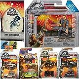 Best Fun World Movie Series - Battle Owen Jurassic Dinosaurs World Mission Trucks Collection Review