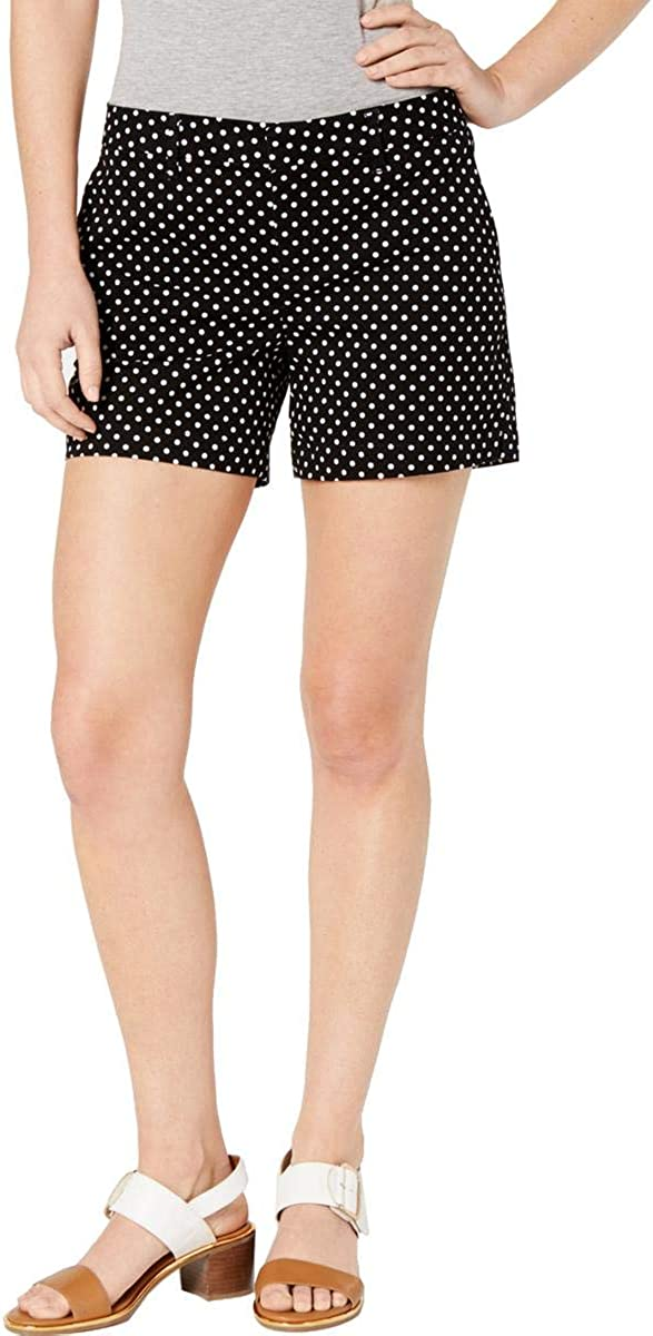 Tommy Hilfiger Womens Hollywood 5 Chino Short Solid Casual Shorts
