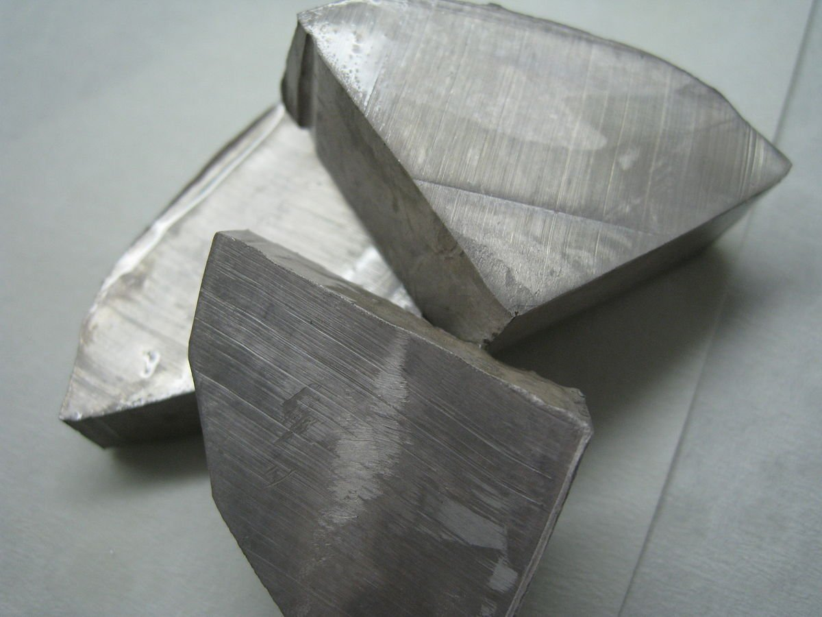 Sodium Metal Ingots Chem Pure 10g x 1 Pieces
