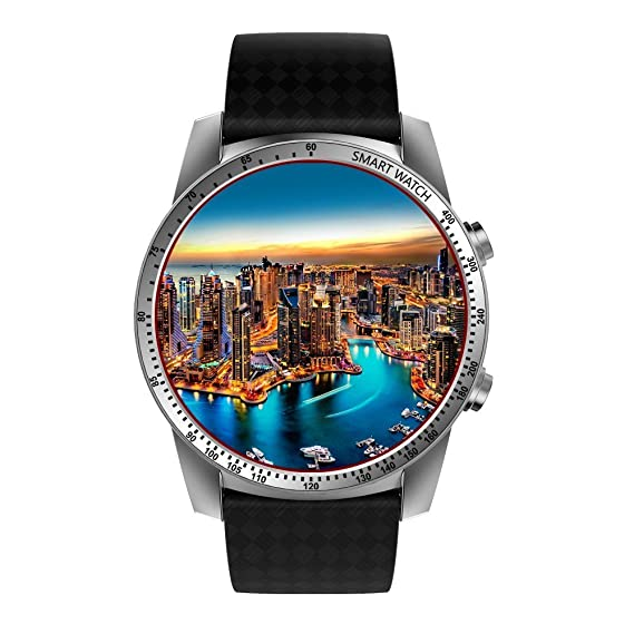 KW99 Smart Watch 3G Bluetooth 4.0 Smartwatch Android 5.1 MTK6580 Quad Core 1.3Ghz GPS WIFI