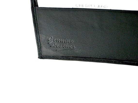 Amazon.com: portafolios para hombre de piel auténtica ...