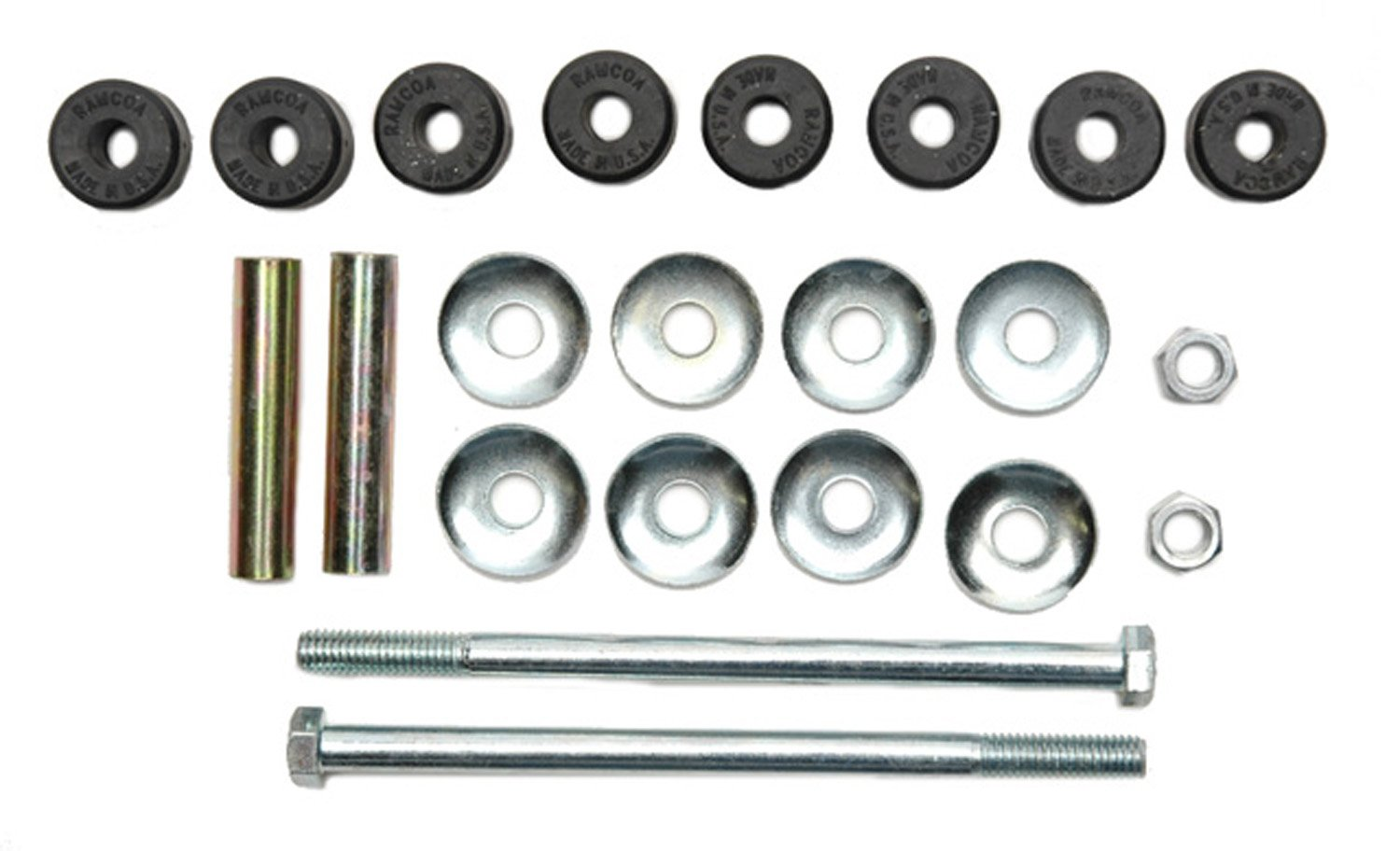 ACDelco 45G0190 Professional Rear Suspension Stabilizer Bar Link Kit with Hardware