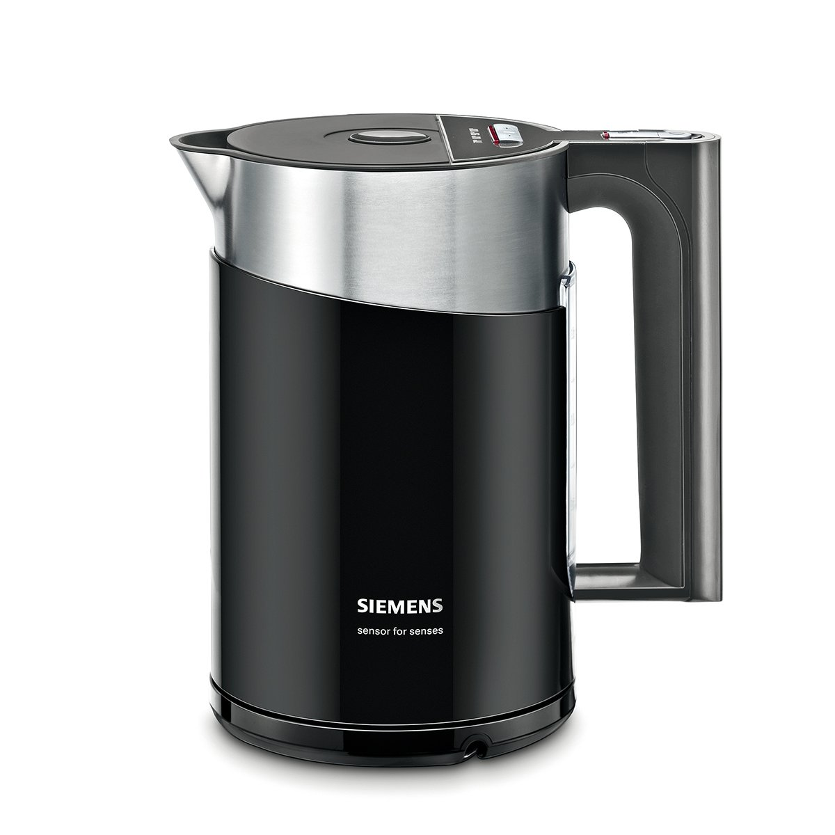 Siemens TW86103P - Hervidor eléctrico, 2400 W, 1.5 L, color negro