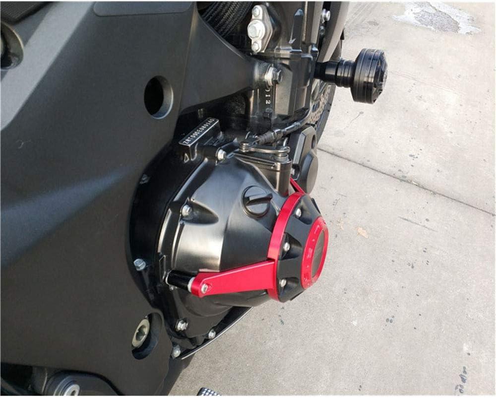 YUOCEAN per Kawasaki Z1000 2010-2019 Motociclo Copertura Protettiva Motore Moto Lega Alluminio Coperchio statore Motore Protettore Anti Crash Protezione Cursori Telaio Guardia anticaduta Crash Pad
