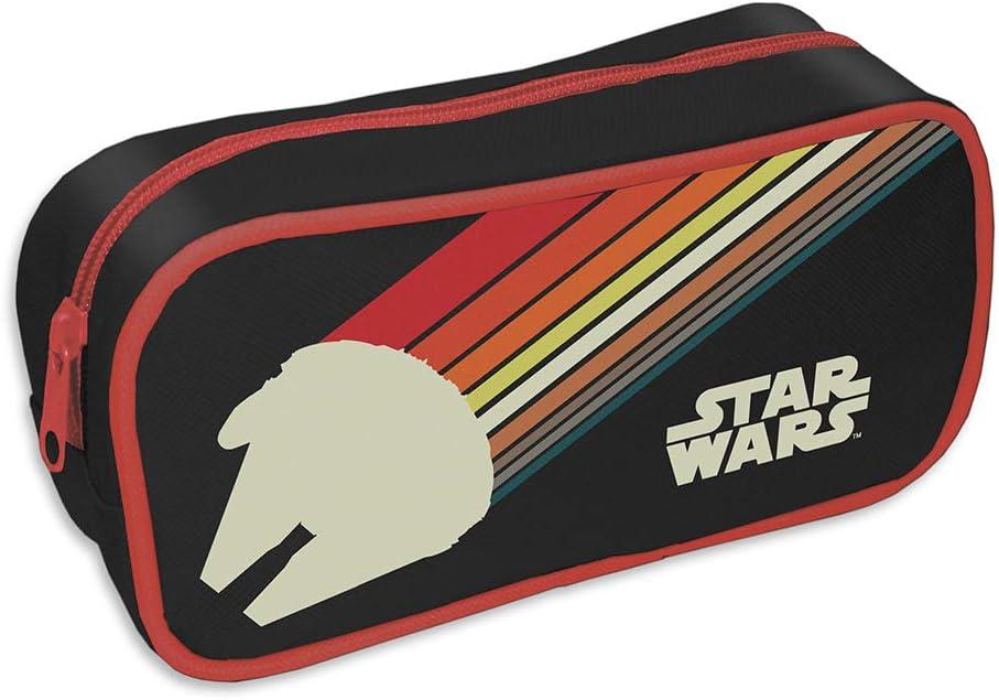 Estuche escolar Star Wars (Nostalgia): Amazon.es: Oficina y papelería