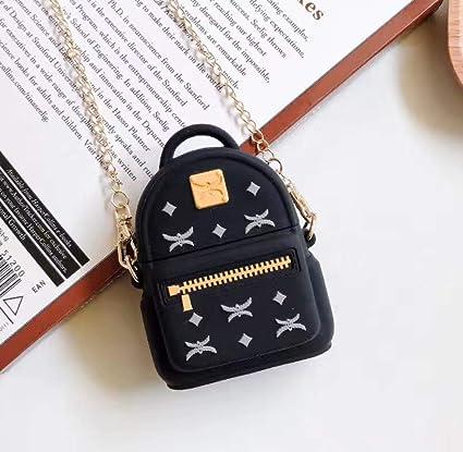 Amazon Com Backpack Case For Airpods 1 2 3d Cute Cartoon Mc