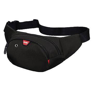 Yooluan Waterproof Bum Waist Bag 3 Zip Pockets Travel Hiking Outdoor Sport Bum  Bag Holiday Money 604d623411