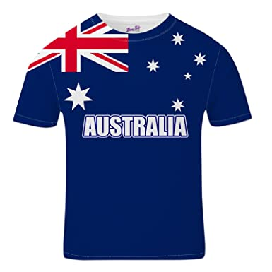 Bang Tidy Clothing Australia Football Shirts for Men 2018 Australian Team  Flag T Shirt Fans Gift  Amazon.co.uk  Clothing f36a908a3