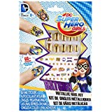 Fashion Angles DC Super Hero Girls Single Metallic Nail Kit - Assorted Colors (Red, Silver, or Gold)