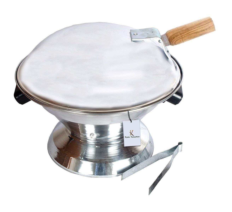 Aluminium Multi Purpose Oven, Gas Tandoor,Barbeque Griller/Bati/Pizza Maker Set of 1 Pc -CTKTC6033
