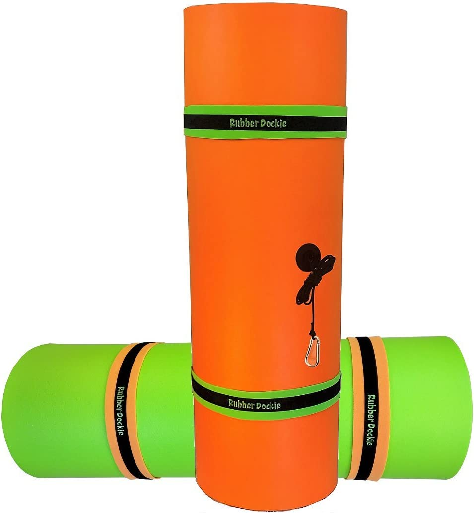 Rubber Dockie 18x6-Feet Floating Mat