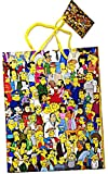 The Simpsons Cartoon Cast Gift Bag small Gift Wrap Bag (pack of 6)