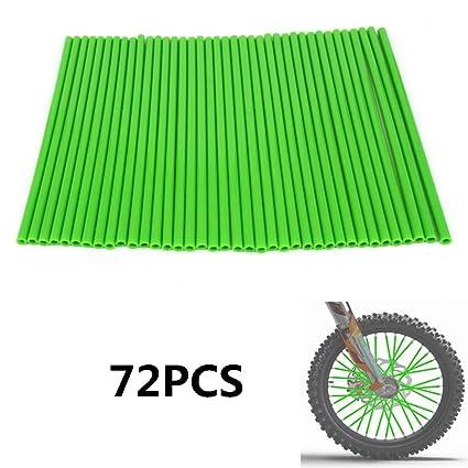 6b1d524347be0 72Pcs Green Wheel Rim Spoke Skins Covers Wrap Decor Protector Kit For  19