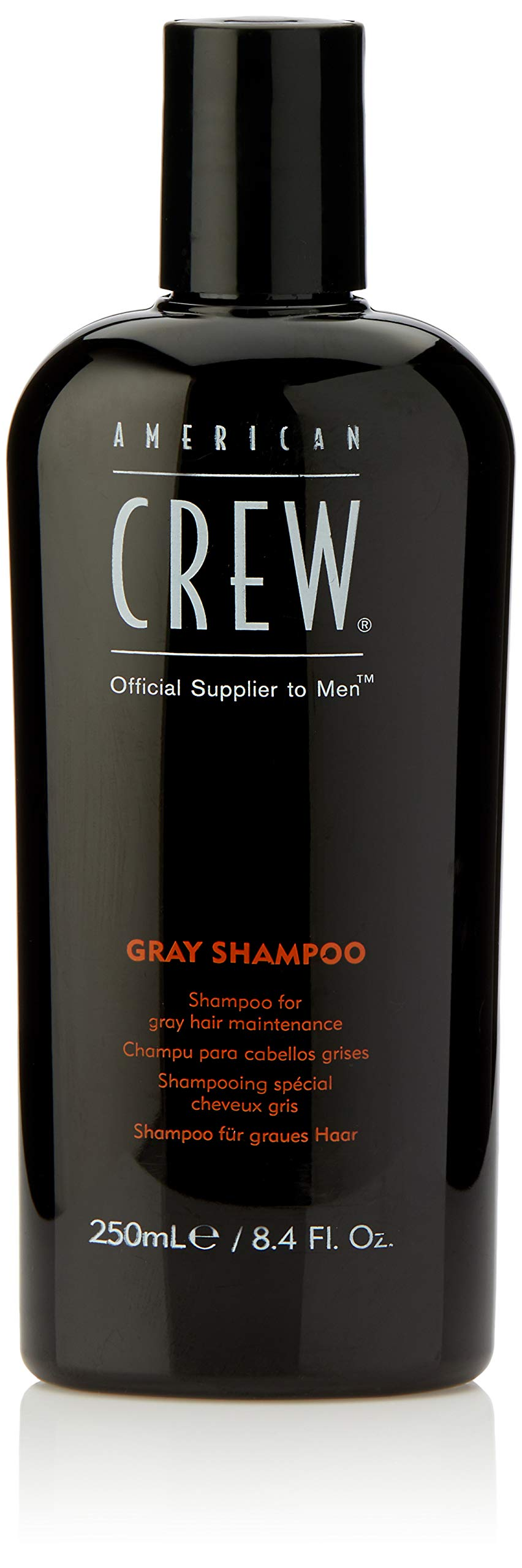 American Crew Gray Shampoo for Men, 8.45 Fl. Oz.