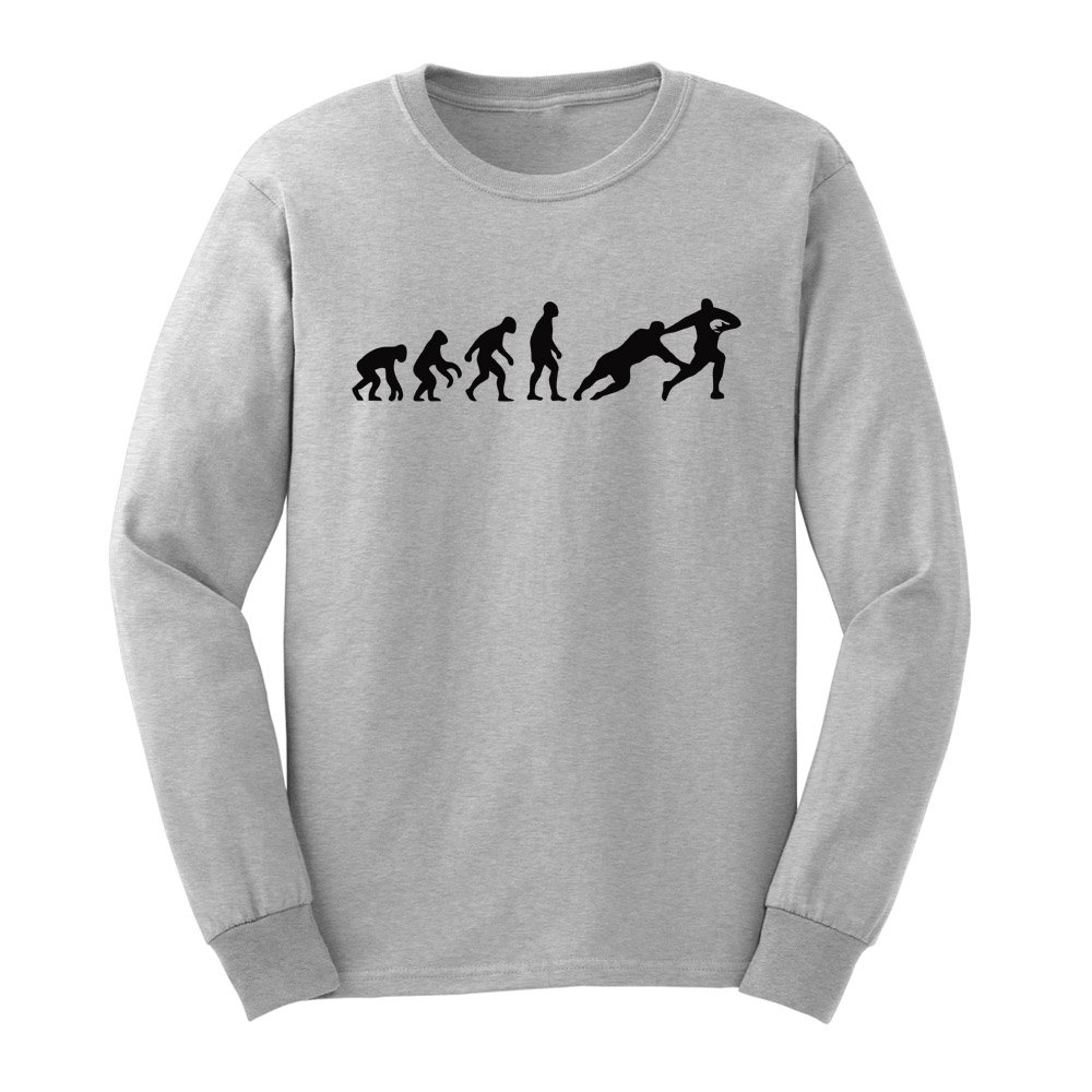 Loo Show S Evolution Of Rugby Funny T Shirts Casual Tee