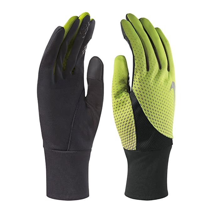38ff18be38 Amazon.com : Nike Mens Tailwind Dri-Fit Conductive Touch Athletic Gloves  Black M : Clothing