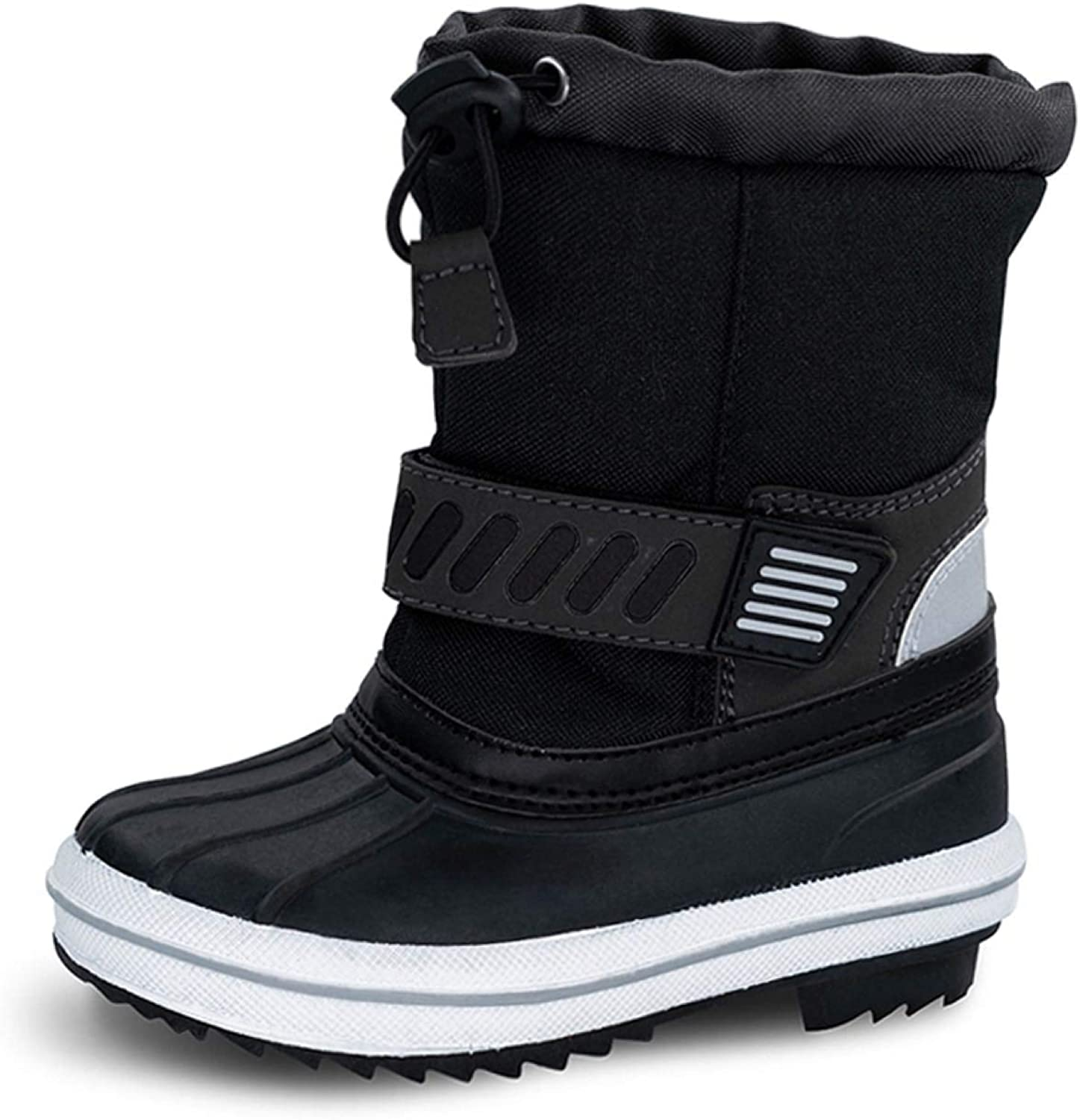 TF STAR Boys Girls Toddler Ankle Winter Snow Boots Outdoor Waterproof Cold Weather Snow Boots for Children//Kids