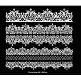 Cake Lace Mats 3D High Defination Sophia Cake Lace Mat - Ideal for Cake and Cupcake Decoration and Craft