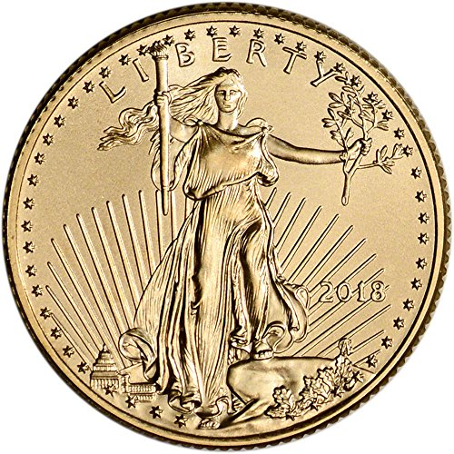 2018 American Gold Eagle (1/4 oz) $10 Brilliant Uncirculated US Mint