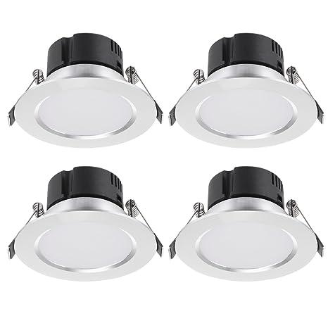sala TGG4E 04X 12/V CC//CD para cocina entre otros por Trango Set de luces LED empotrables de 4/equivalente a luz normal G4