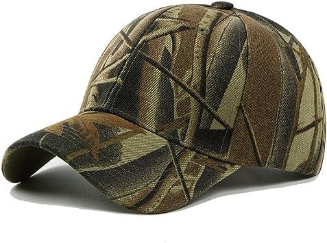UxradG - Gorra de camuflaje militar para caza, pesca o actividades al aire libre, café: Amazon.es: Deportes y aire libre