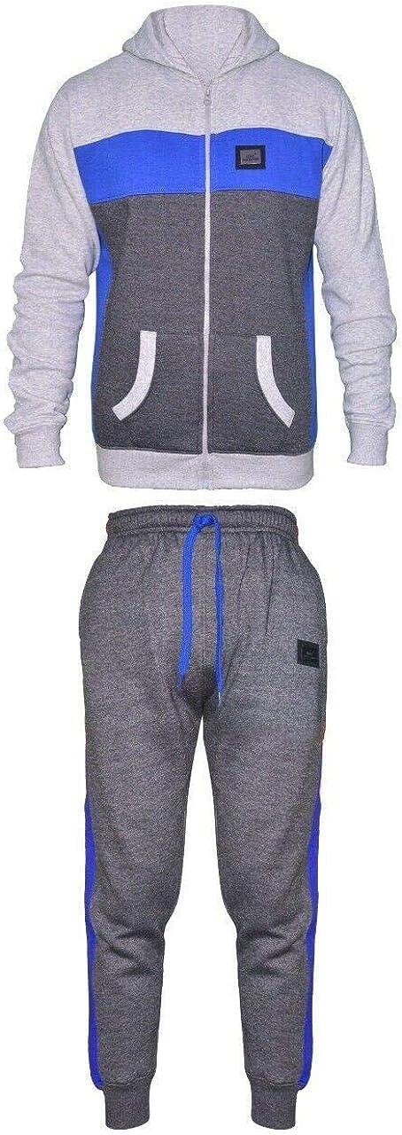 Flirty Wardrobe Kids Tracksuit Joggers Set Fleece Hoodie Top Bottoms HNL Boys Girls Sport Unisex