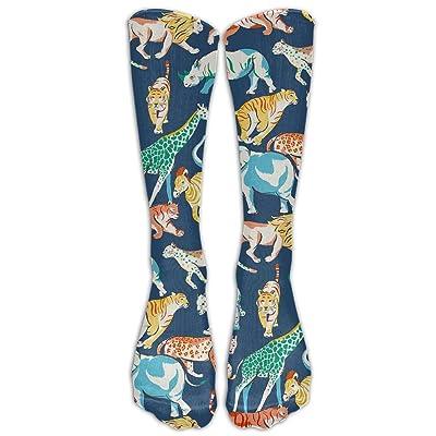 High Boots Crew Cute Animals Compression Socks Comfortable Long Dress For Men Women