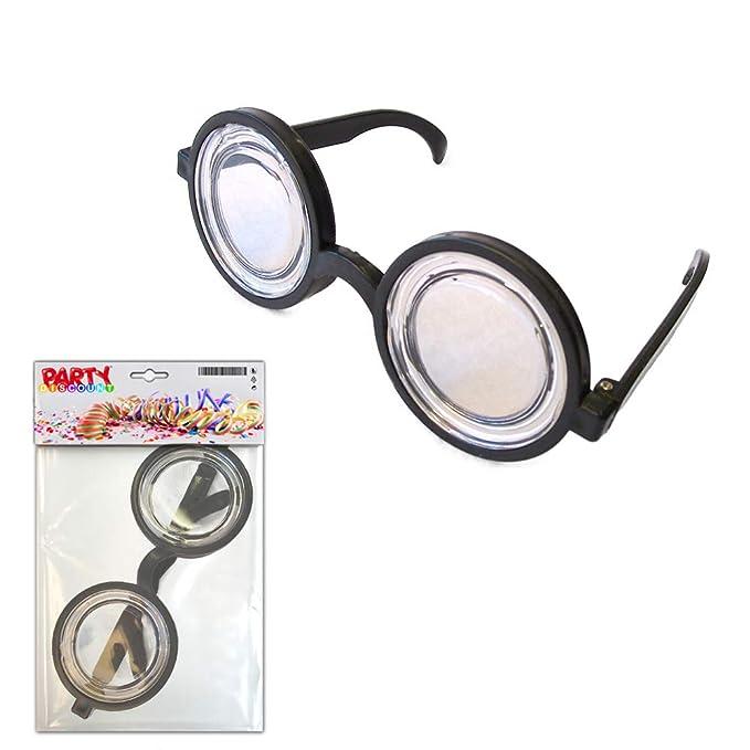 ... noires lunettes de geek lunettes de déguisement lunettes d idiot  lunettes grossissantes lunettes beta lunettes de docteur  Amazon.fr  Jeux  et Jouets 2ca7c365cdf3
