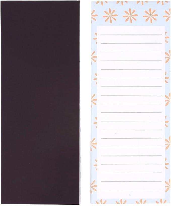 Magnetische Notizbl/öcke von Juvale Erinnerungshilfe Magnetische R/ückseite - Liniert 6 Farben Einkaufszettel 8,9 cm x 22,9 cm Als To-Do-Liste 6 Tier-Motive 60 Blatt pro Block 6er Set