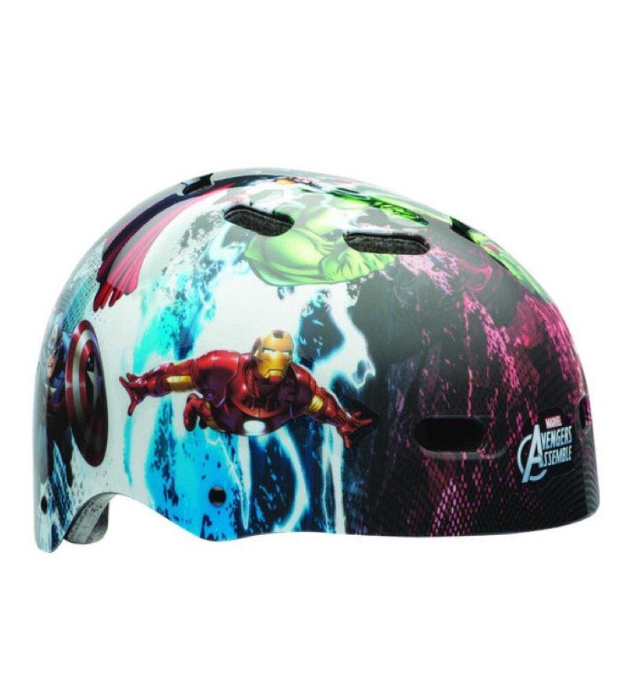 Bike Helmet with Ironman