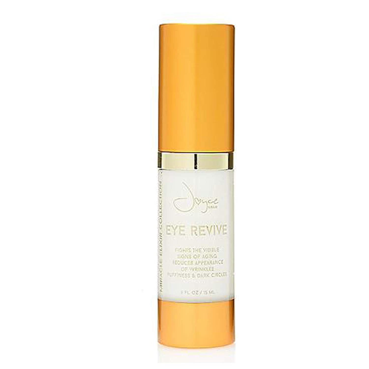 Joyce Giraud Miracle Elixir Collection Eye Revive Cream   Reduce Wrinkles, Dark Circles and Puffiness with Pure4 Oil Blend .5 OZ / 15 ML